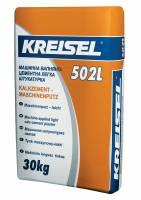 Легкая машинная цементно-известковая штукатурка Kalkzement-maschinenputz leicht 502L Kreisel 25 кг фото