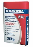 Клей для приклеивания плит из минеральной ваты 230 ( Mineralwolle-klebemortel ) Kreisel 25 кг фото