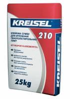 Клей для приклеивания плит пенополистирола 210 ( Styropor-klebemortel ) Kreisel 25 кг фото