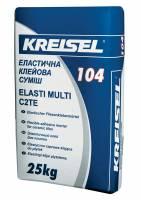 Клей для плитки эластичный Elasti Multi 104 Kreisel 25 кг фото
