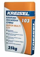 Клей для плитки усиленный Super Multi 103 Kreisel 25 кг фото