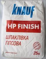 Шпаклевка гипсовая финишная HP FINISH 25 кг KNAUF фото