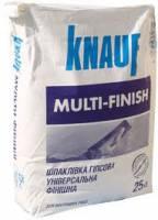Шпаклевка гипсовая суперфинишная MULTI-FINISH (Мультифиниш) 25 кг Knauf фото