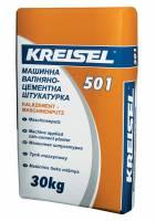 Машинная цементно-известковая штукатурка Kalkzement-maschinenputz 501 Kreisel 25 кг фото